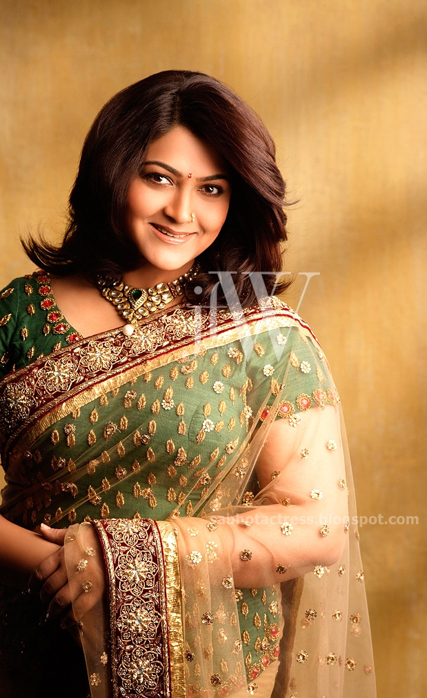 """kushboo Latest Hot Photo Shoot Gallery For JFW Magazine   """"Tamil South ..."""