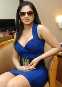Hot Heroine Nikesha New Photo shot in Bule Dress gallery pictures