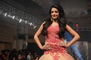 trisha rwalks at sidney sladen fashion , trisha new cute stills